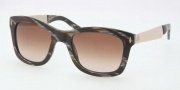 Tory Burch TY7042 Sunglasses Sunglasses - 706/13 Black Horn / Brown Gradient