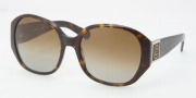 Tory Burch TY7043 Sunglasses Sunglasses - 510/T5 Dark Tortoise / Gradient Brown Polarized