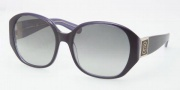 Tory Burch TY7043 Sunglasses Sunglasses - 771/11 Blue Crystal / Grey Gradient