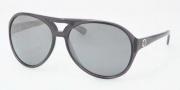 Tory Burch TY9011 Sunglasses Sunglasses - 10606G Dark Gray / Silver Mirror