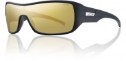 Smith Optics Stronghold Sunglasses Sunglasses - Matte Black / Polarized Gold Mirror