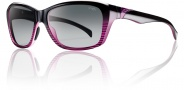 Smith Optics Spree Sunglasses Sunglasses - Black Violet Split / Polarized Gray Gradient