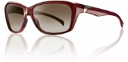 Smith Optics Spree Sunglasses Sunglasses - Cranberry / Polarized Brown Gradient
