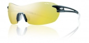 Smith Optics Pivlock V90 Sunglasses Sunglasses - Matte Black / Yellow Mirror