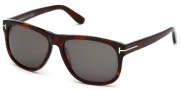 Tom Ford FT0236 Olivier Sunglasses Sunglasses - 54A Red Havana / Smoke