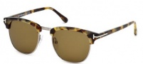 Tom Ford FT0248 Henry Sunglasses Sunglasses - 55J Coloured Havana / Roviex