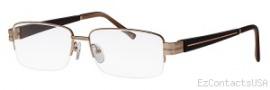 Caviar 1595 Eyeglasses Eyeglasses - 21 Gold W/ Ebony Wood Temples