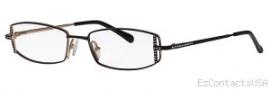 Caviar 2610 Eyeglasses Eyeglasses - 24 Black w/ Clear Crystal Stones
