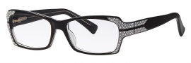 Caviar 6169 Eyeglasses Eyeglasses - 16 Brown w/ Gold Leafing w/ Gold Crystal Stones