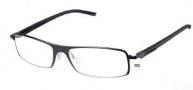 Tag Heuer Automatic 0801 Eyeglasses Eyeglasses - 001 Matte Black Front / Black - Black Temples