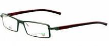 Tag Heuer Automatic 0803 Eyeglasses Eyeglasses - 006 Dark Front / Burgundy - Black Temples