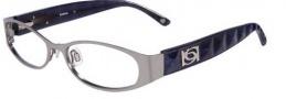 Bebe BB 5037 Eyeglasses Eyeglasses - Silver