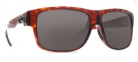 Costa Del Mar Caye Sunglasses Tortoise Frame Sunglasses - Dark Gray / 400G