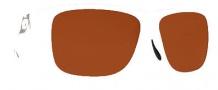 Costa Del Mar Caye Sunglasses White Frame Sunglasses - Copper / 580G