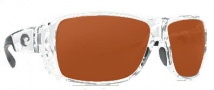 Costa Del Mar Double Haul Sunglasses Crystal Frame Sunglasses - Copper / 580P