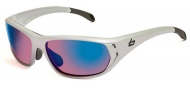 Bolle Ouray Sunglasses Sunglasses - 11545 Holographic Silver / Rose Blue