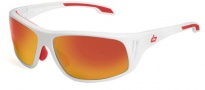Bolle Rainier Sunglasses Sunglasses - 11549 Shiny White / TNS Fire