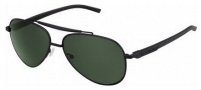 Tag Heuer Automatic Sun Vintage 0881 Sunglasses Sunglasses - 311 Black - Black Temples / Black Bar - Black Frame / Precision Green Lenses