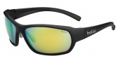 Bolle Bounty Sunglasses Sunglasses - 11775 Matte Black / Polarized Brown Emerald oleo AF