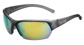 Bolle Ransom Sunglasses  Sunglasses - 11806 Satin Crystal Grey / Polarized Brown Emerald