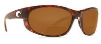 Costa Del Mar Howler C-Mates Bifocals Sunglasses - Tortoise / Dark Amber 1.75 400P