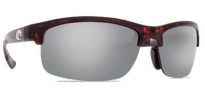 Costa Del Mar Indio Sunglasses - Tortoise Frame Sunglasses - Silver Mirror / 580P