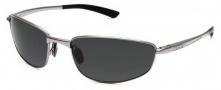 Bolle Del Mar Sunglasses Sunglasses - 11561 Shiny Gunmetal Polar TNS Ole/AF 8 Base