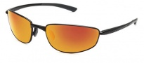 Bolle Del Mar Sunglasses Sunglasses - 11562 Satin Black / Polarized TNS Fire