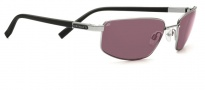 Serengeti Agazzi Sunglasses Sunglasses - 7562 Shiny Gunmetal / Polar PHD Sedona