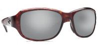 Costa Del Mar Las Olas Sunglasses - Tortoise Frame Sunglasses - Silver Mirror / 580G