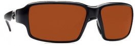 Costa Del Mar Peninsula Sunglasses - Black Frame Sunglasses - Copper 580P