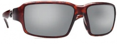 Costa Del Mar Peninsula Sunglasses - Tortoise Frame Sunglasses - Silver Mirror / 580G