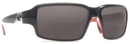 Costa Del Mar Peninsula Sunglasses - Black Coral Frame Sunglasses - Dark Gray / 400G