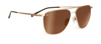 Serengeti Marco Sunglasses Sunglasses - 7715 Shiny Gold / Drivers Gold Polarized