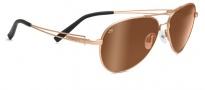 Serengeti Brando Sunglasses Sunglasses - 7700 Velvet Gold / Drivers Gold Polarized