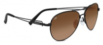 Serengeti Brando Sunglasses Sunglasses - 7787 Satin Black / Drivers Gradient