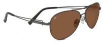 Serengeti Brando Sunglasses Sunglasses - 7785 Shiny Dark Gunmetal Drivers