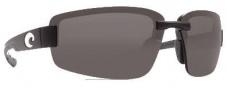 Costa Del Mar Seadrift Sunglasses - Black Frame Sunglasses - Gray / 580P
