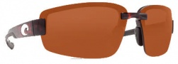 Costa Del Mar Seadrift Sunglasses - Tortoise Frame Sunglasses - Copper / 580P