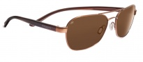 Serengeti Volterra Sunglasses Sunglasses - 7590 Shiny Copper Stripe / Drivers Polarized
