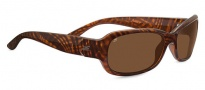 Serengeti Chloe Sunglasses Sunglasses - 7911 Shiny Honey Stripe Tortoise / Polarized Drivers