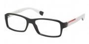 Prada Sport PS 05CV Eyeglasses Eyeglasses - 1AB1O1 Black
