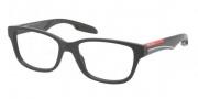 Prada Sport PS 06CV Eyeglasses Eyeglasses - 1BO1O1 Gunmetal Demi Shiny