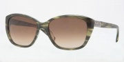 Anne Klein AK3176 Sunglasses Sunglasses - 323/78 Transparent Green / Light Brown Gradient