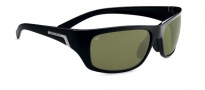 Serengeti Orvieto Sunglasses Sunglasses - 7755 Shiny Satin Black / Polar PhD 555nm