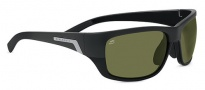 Serengeti Orvieto Sunglasses Sunglasses - 7997 Shiny / Matte Black Polarized PhD 555nm