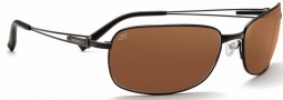 Serengeti Trieste Sunglasses Sunglasses - 7672 Satin Black / Drivers Polarized