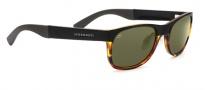 Serengeti Piero Sunglasses Sunglasses - 7640 Satin Black / Shiny Tortoise / 555NM Polarized