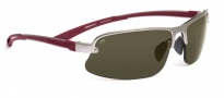 Serengeti Destare Sunglasses Sunglasses - 7689 Satin Silver / Polar PHD 555NM