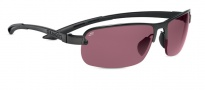 Serengeti Strato Sunglasses Sunglasses - 7681 Satin Black  / Polar PHD Sedona